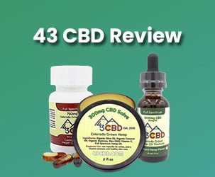 43 CBD Solutions Review | Hemp Extracted CBD For Your Health
