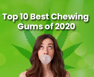 Top 10 Best CBD Chewing Gums of 2021