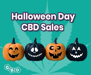 Halloween Day CBD Oil Sales & Coupons 2019