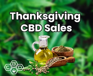 Thanksgiving Day CBD Oil Sales and Coupons 2019