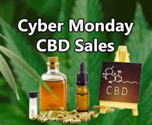 Cyber Monday CBD Oil Sales and Coupons 2019