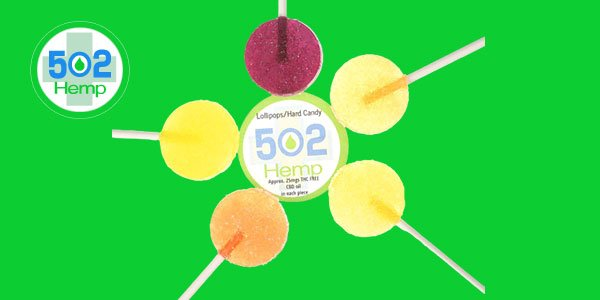 502 Hemp- CBD Infused Lollipops