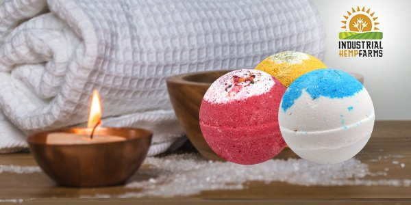 Industrial Hemp Bombs CBD Bath Bombs